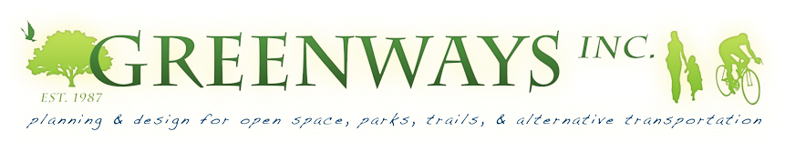 Greenways, Inc. - Planning and design for open space, parks, trails and alternative transportation.